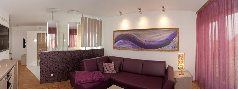 Deluxe Apartement Amethyst – 60m²